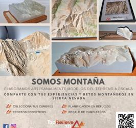 Sierra Nevada impresa en 3D